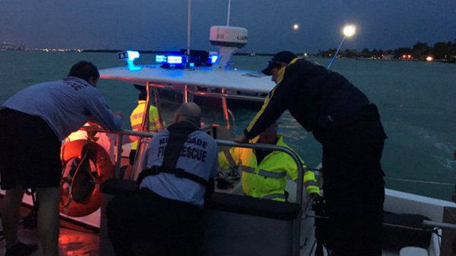 Missing man recovered in waters off Key Biscayne