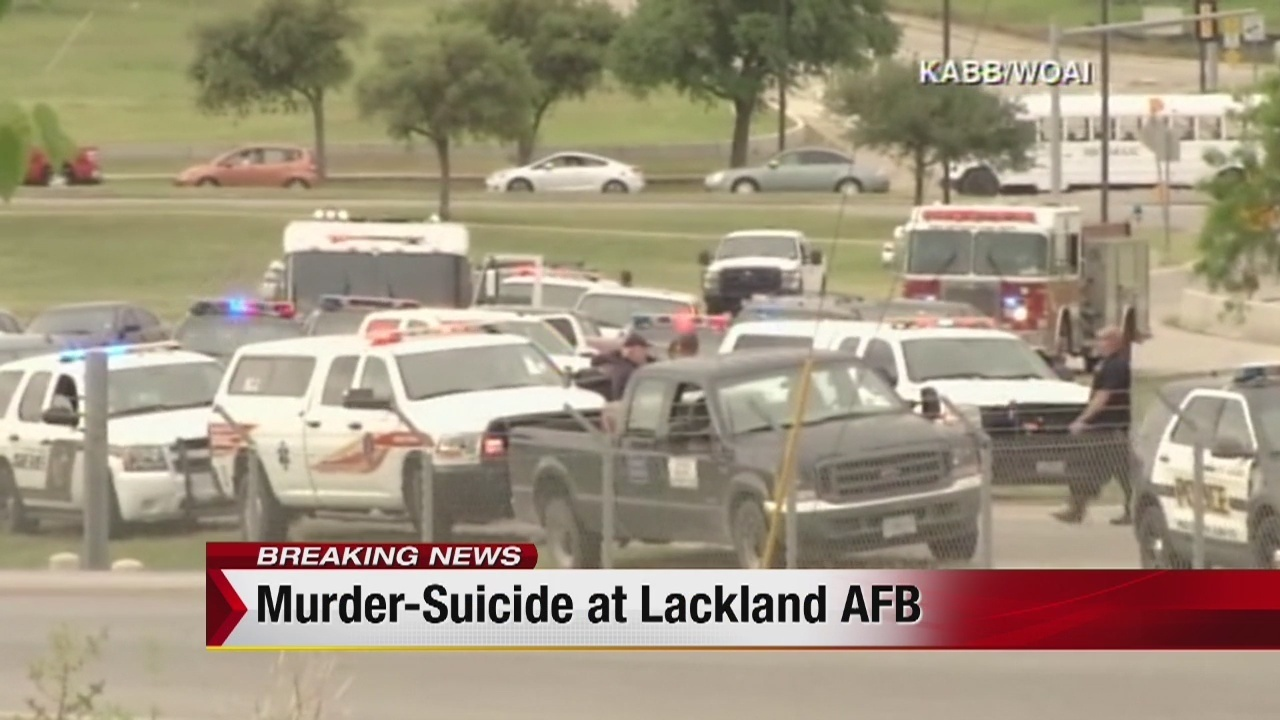 2 Killed In Murder Suicide At Lackland Air Force Base