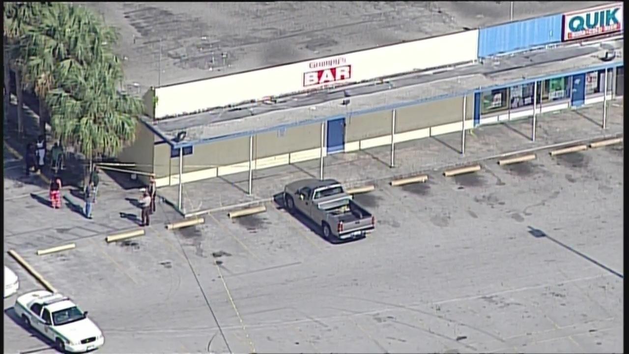 Man Shot After Stabbing Another Man Outside Homestead Bar