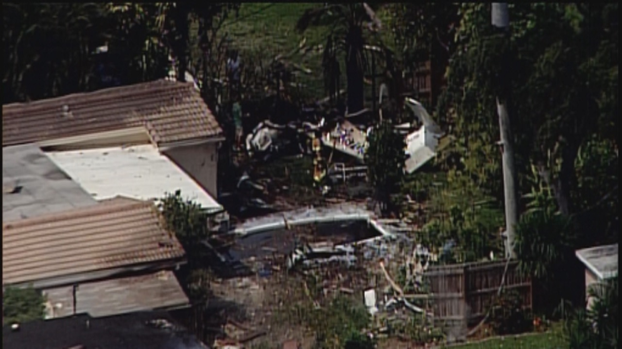3 Severely Burned After Plane Crashes Into Pompano Beach House