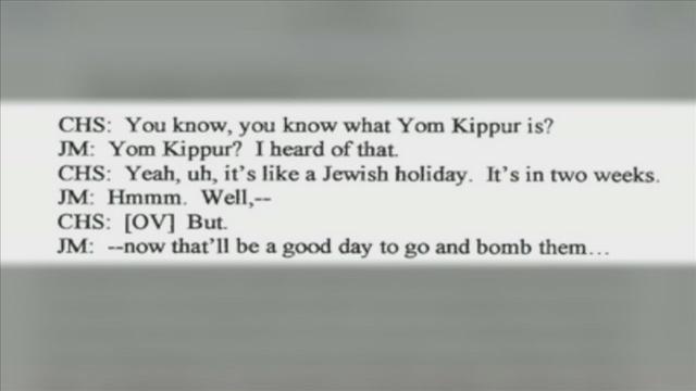 Yom Kippur wrong Jewish holiday in James Medina criminal complaint
