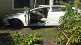 Stolen car crashes into home in North Miami Beach