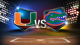 Gators overcome early deficit, rally to beat Hurricanes in series opener