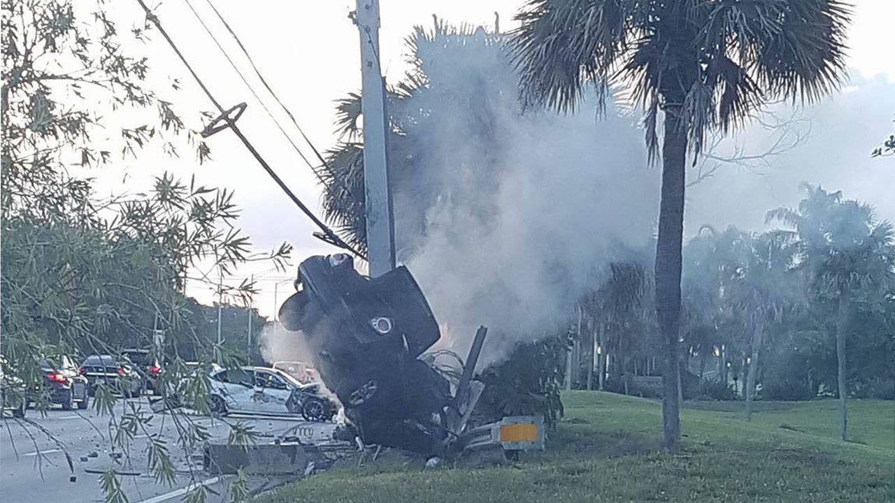 1 Dead After Vehicle Collides With Pole In Tamarac