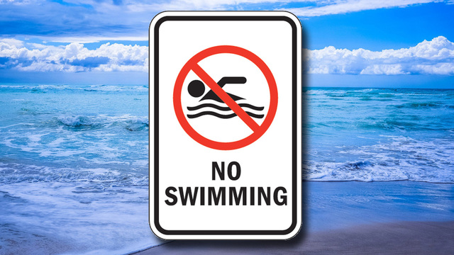 Sewer leak pollutes South Beach, city warns