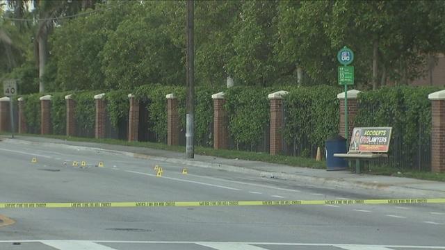 Man fatally shot at Opa-locka bus stop