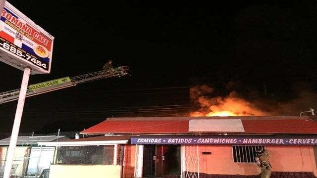 Fire breaks out inside Opa-locka restaurant