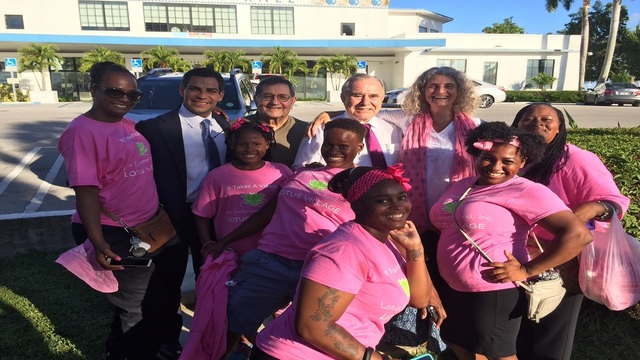 Lotus House group at Miami commission meeting