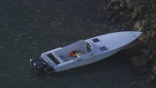Fisher Island migrants boat