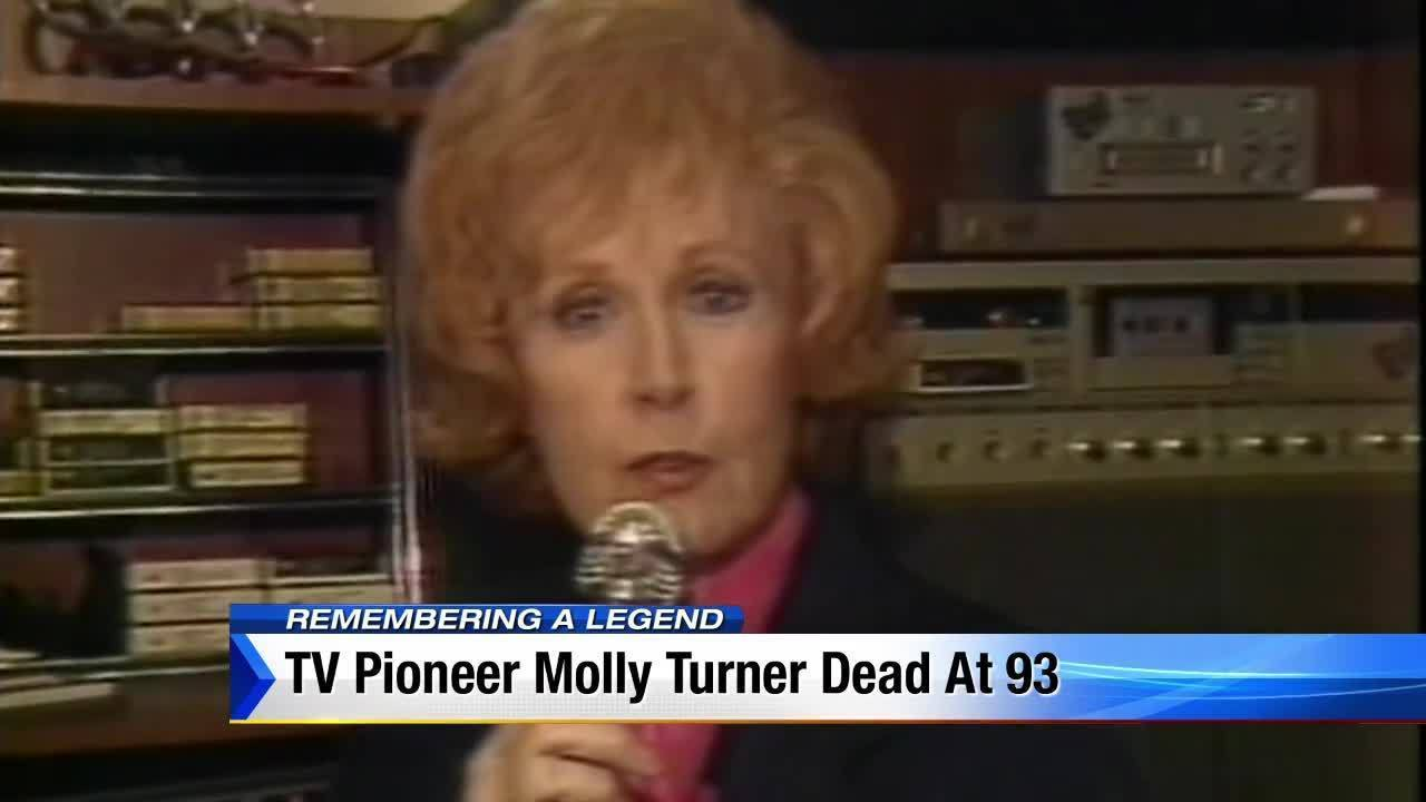 South Florida's first female news anchor, Molly Turner, dies