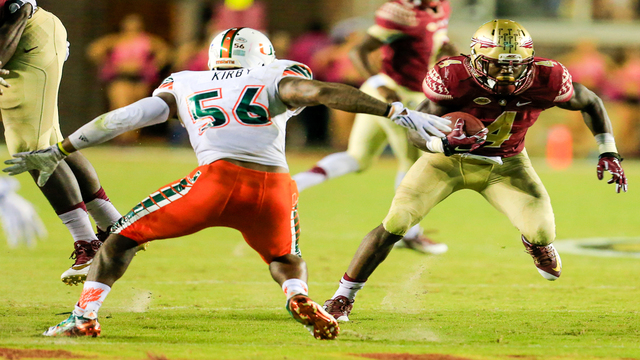 10 most memorable games in history of Florida State vs. Miami rivalry