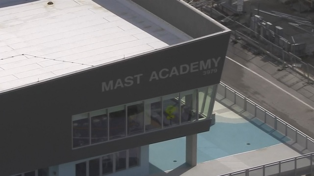 Power goes out at MAST Academy, Rickenbacker Marina in Key Biscayne