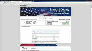 Secretary of state calls early release of Broward County election&hellip&#x3b;