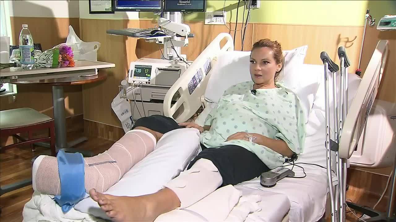 Local 10 News anchor Jacey Birch injured in crash