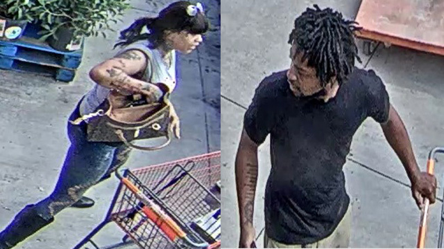 Shoplifters At Home Depot In Hollywood
