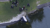 Man pulled from SUV that crashed into canal in Deerfield Beach