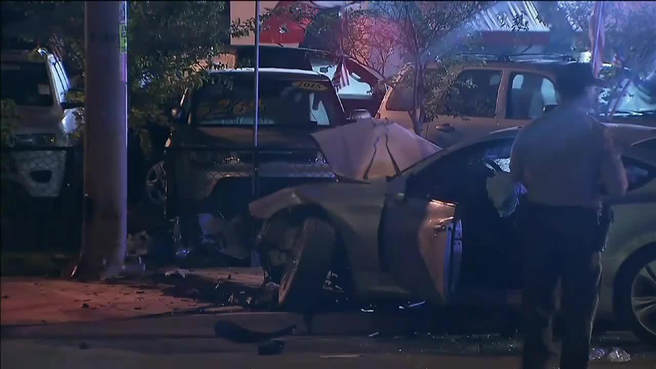 Stolen Car Crashes In Southwest Miami Dade