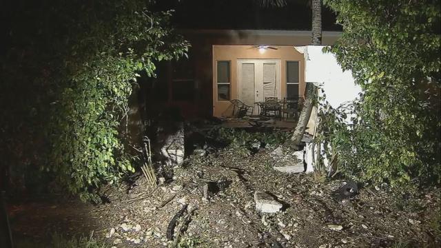 Car slams into back of Miramar home