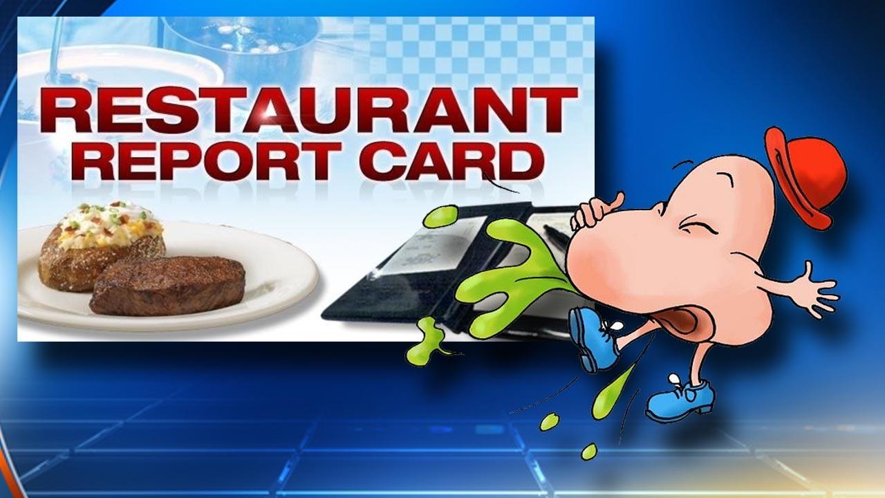 Roach In Food Restaurant