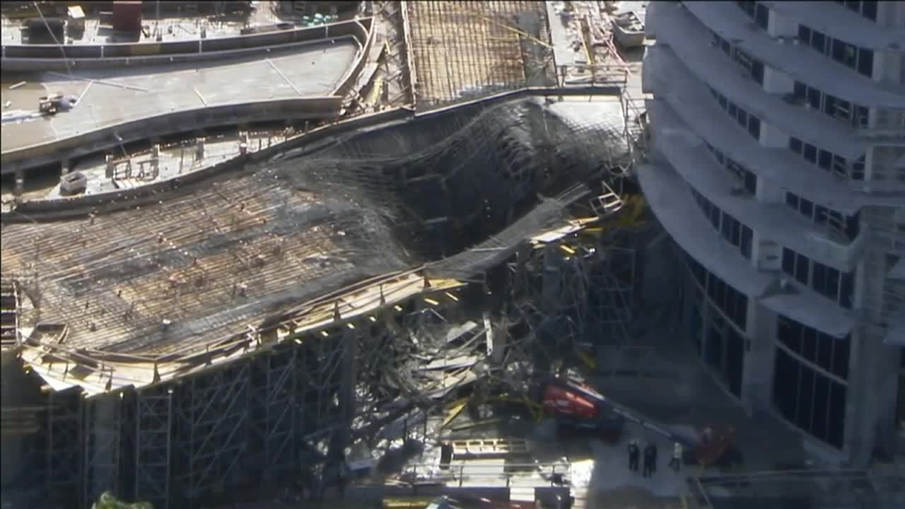 Collapse Of Florida Condo Boom >> Scaffolding Collapse Reported At Fort Lauderdale Beach