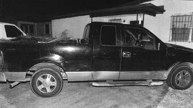 Pickup truck believed to have been used in fatal Dania Beach shooting