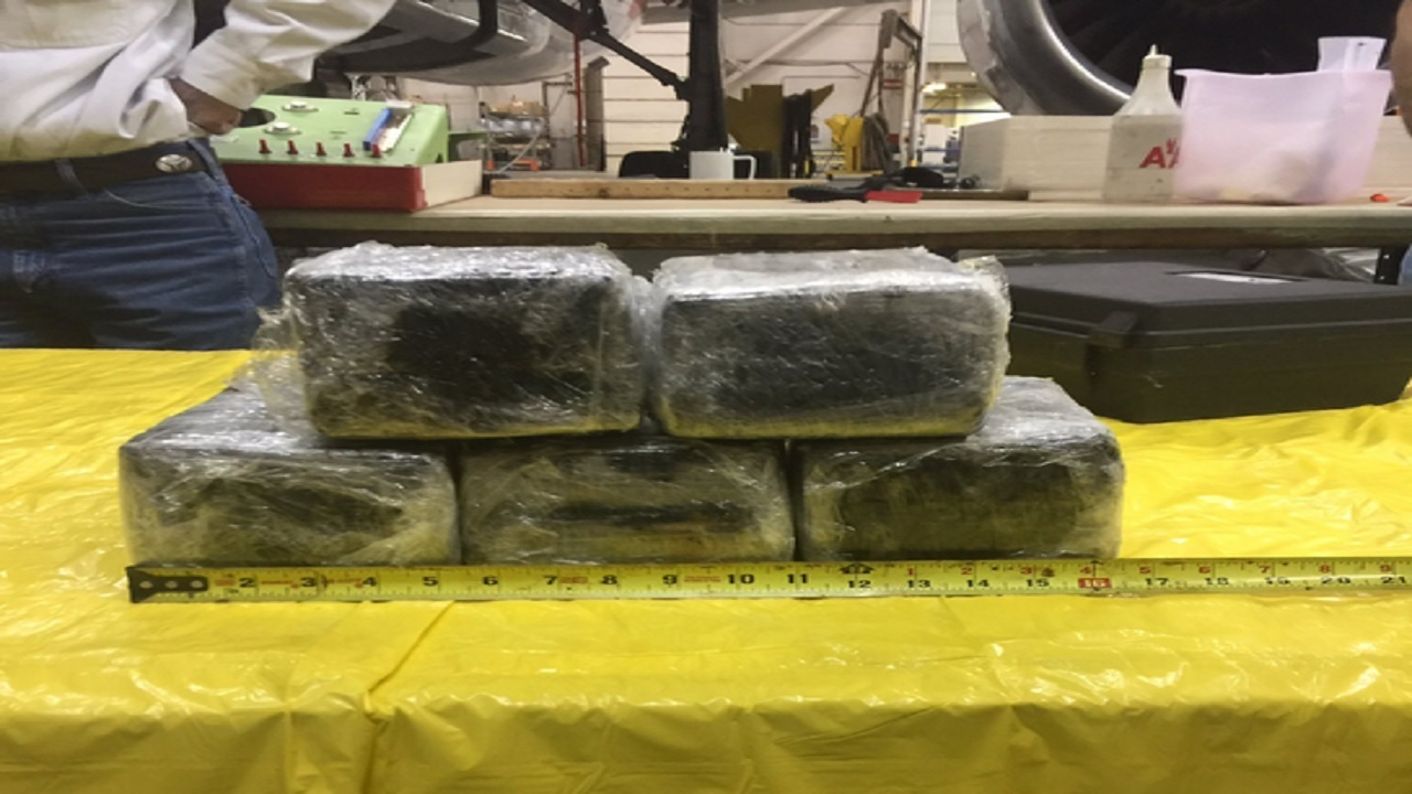 30 Pounds Of Cocaine Found In American Airlines Plane