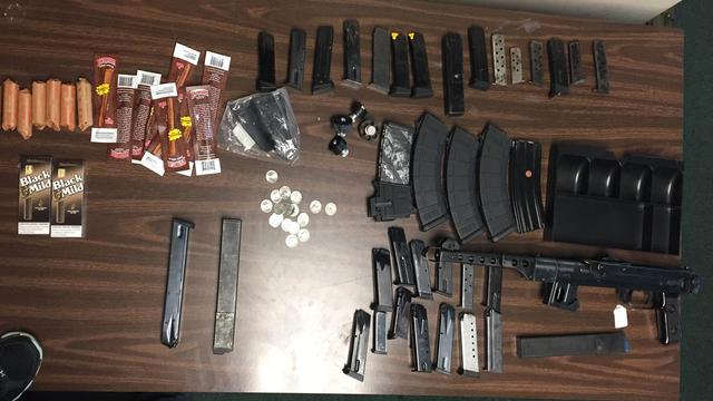 Items seized from Broward County burglaries