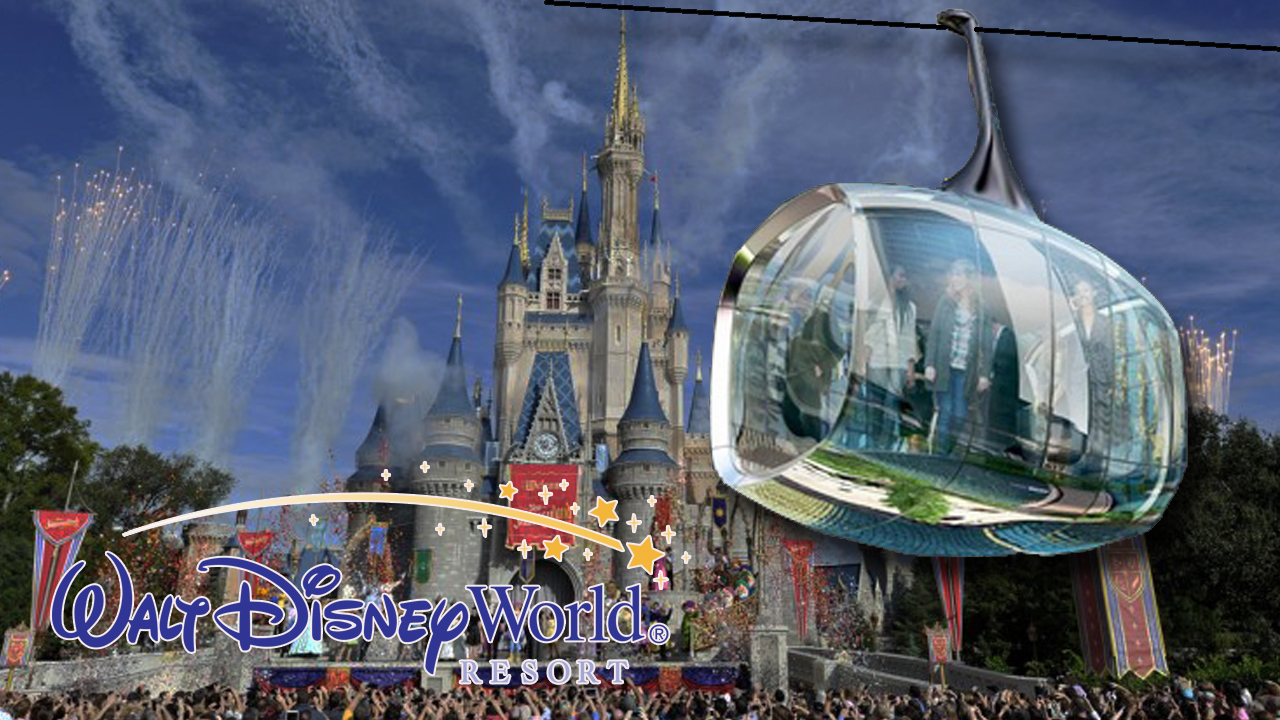 walt disney world to build new gondola transportation system
