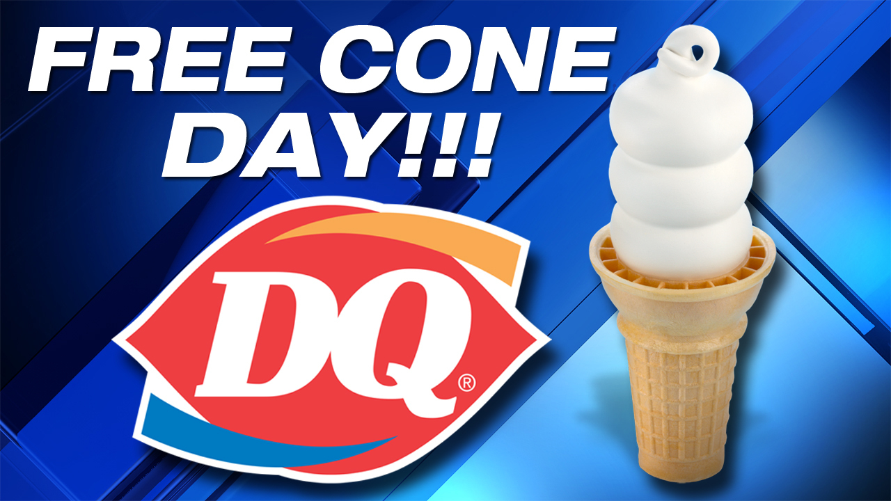 It S Free Cone Day At Dairy Queen
