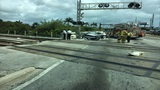 1 dead after Amtrak train crashes into car in Oakland Park