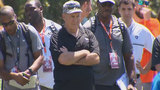 Bill Belichick attends Hurricanes Pro Day