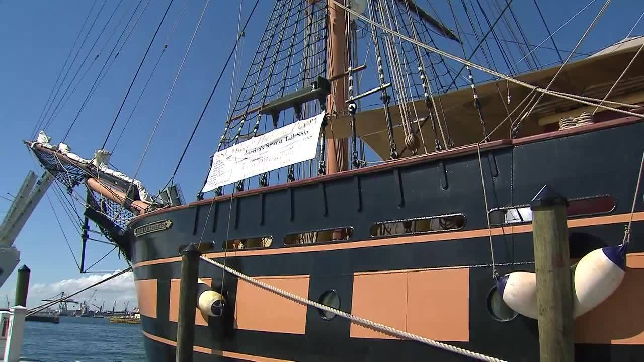 America S Newest Tall Ship Now Docked In Fort Lauderdale