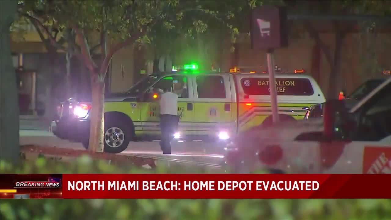 Home Depot Evacuates Store In North Miami Beach After 11 Get Sick
