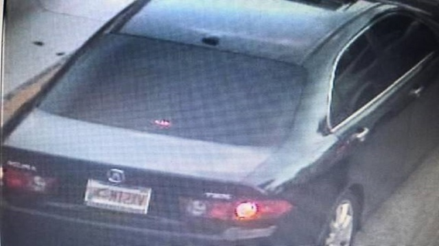 Stolen Acura used in vehicle burglaries