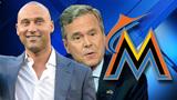 Report: Jeter-Bush group wins bid to buy Marlins