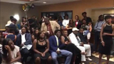 Dalvin Cook's draft party guests react to Buccaneers pick