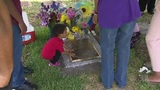 Jada Page's gravesite fitted with headstone in honor of 8-year-old&hellip&#x3b;