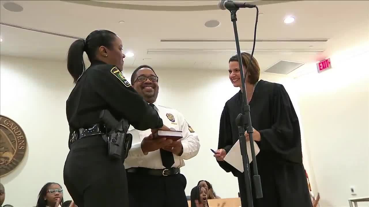 Miami Gardens Swears In First Female Police Chief