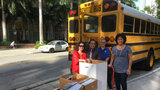 Follow Big Book Drive school bus on Friday