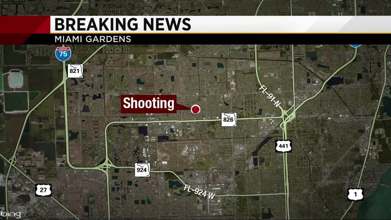 2 hospitalized after shooting in miami gardens