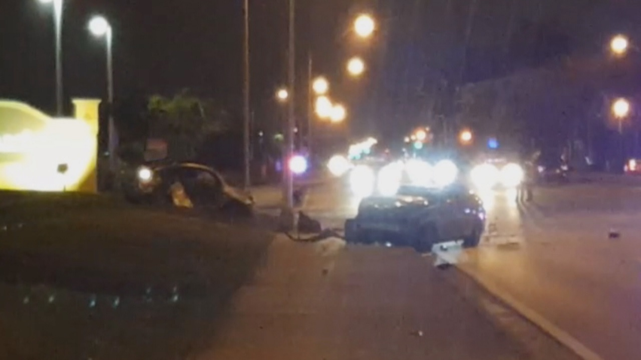 Broward Car Accident Driver Died
