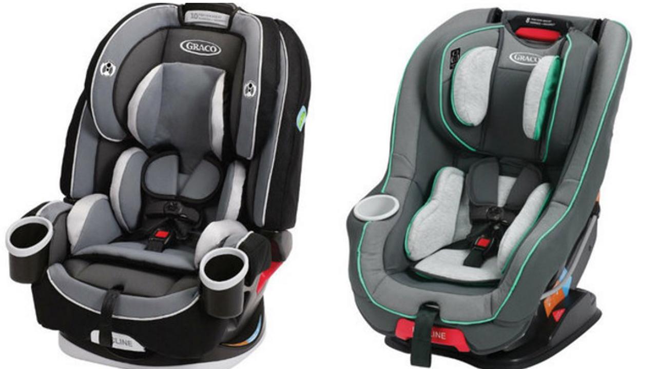 Graco recalls car seats; webbing may not hold child in crash