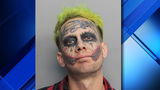 'Joker' arrested after pointing gun at passing vehicles, police say