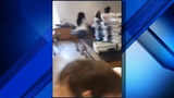 School employees caught fighting in classroom in front of students
