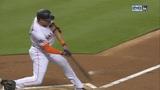 Marlins use big 1st inning, Stanton HR to blast Angels