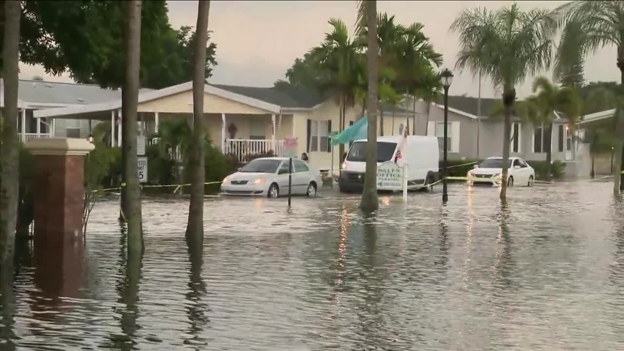 Mobile Home Parks In Davie Experience Extreme Flooding