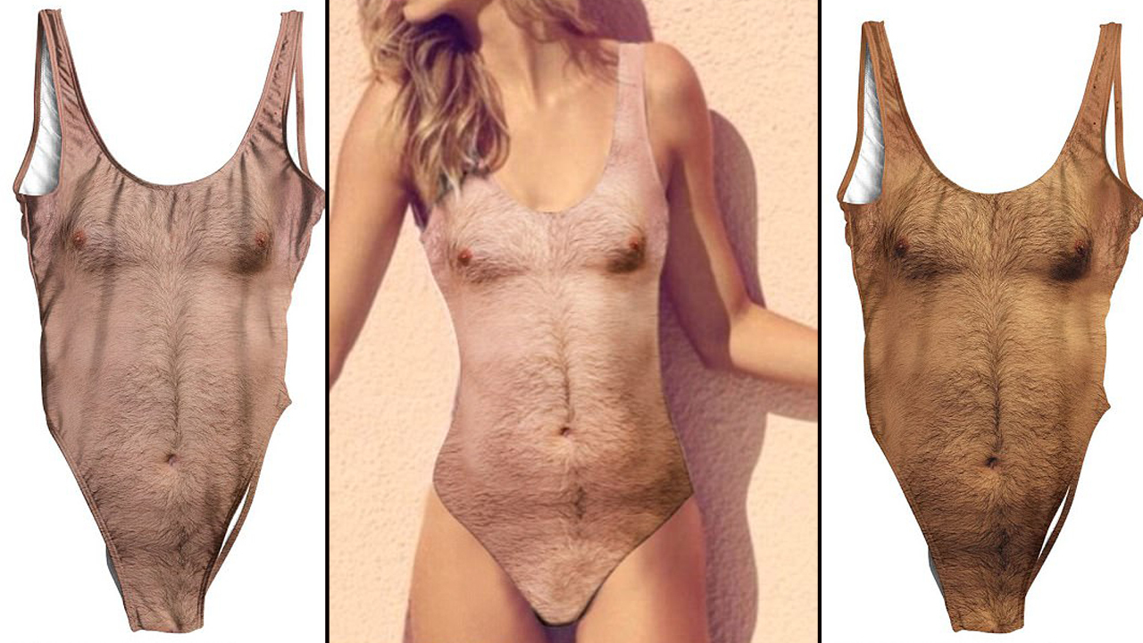 cda23e5abe Hairy chest bathing suits heading to beach near you