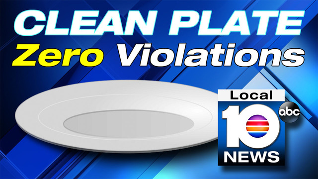 Clean Plate: Restaurants in Miami-Dade, Monroe counties with zero violations