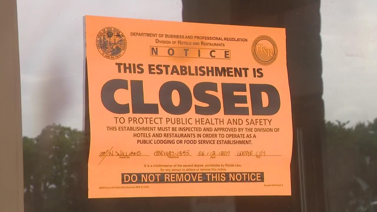 Several South Florida Restaurants Ordered Shut After Inspection
