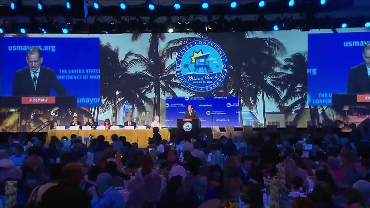 Image result for conference of mayors miami